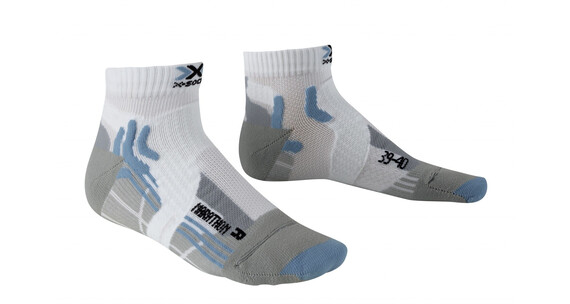 X-Socks Marathon Skarpetki do biegania Kobiety szary/biały